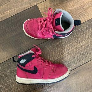 Pink Air Jordan's